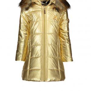Le Chic Gold Long Coat 5216
