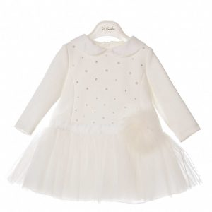 Bimbalò Cream Dress 4901