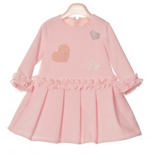Bimbalò Pink Hearts Dress 4902