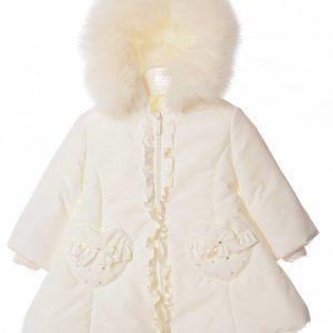 Bimbalò Cream Hearts Coat 4957