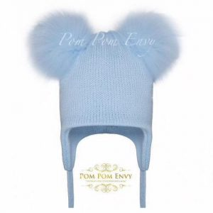 Pom Pom Envy – Blue – Double Bubble