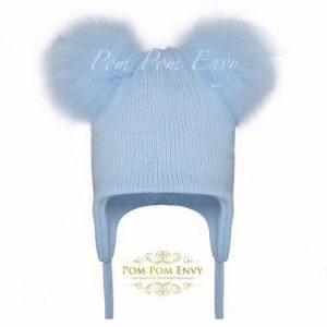 Pom Pom Envy – Blue – Double Bubble