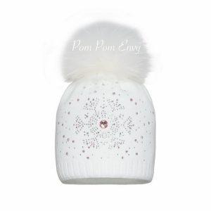 Pom Pom Envy – White – Snowflake