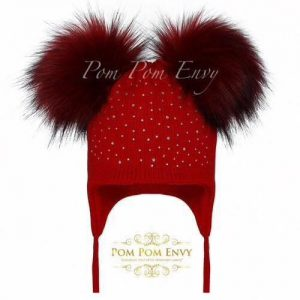 Pom Pom Envy – Red – Double Bubble