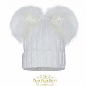 Pom Pom Envy – White – Double Bubble
