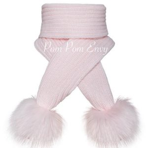 Pom Pom Envy – Pink – Scarf