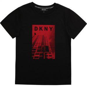DKNY Black T-Shirt D25C79