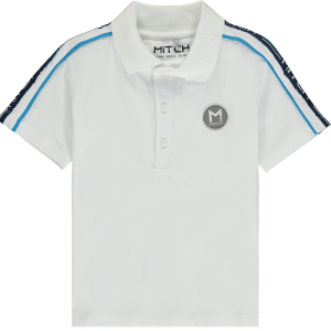 Mitch CONNER White Polo