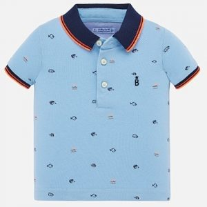 Mayoral Blue Polo 1153