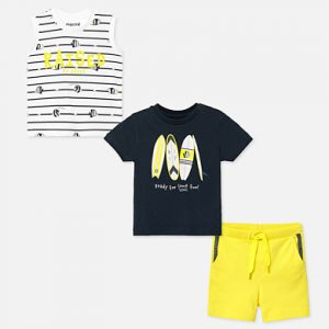 Mayoral Toddler Yellow 3 Piece Set 1691