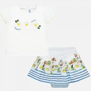 Mayoral Toddler Skirt Set 1952