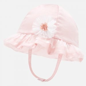 Mayoral Baby Girls Pink Hat 9256