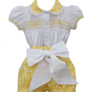 PRETTY ORIGINALS Yellow Shorts Set