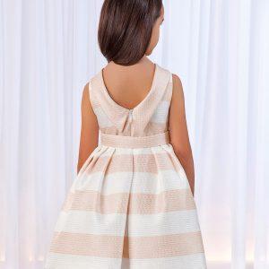 Abel & Lula Pink Stripe Dress