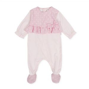 Tutto Piccolo Pink Babygrow 8184