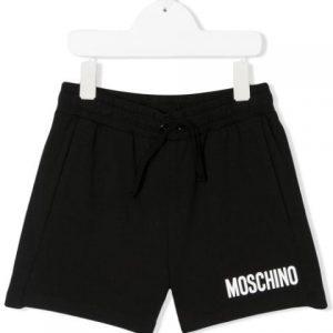 Moschino Black Shorts HUQ002