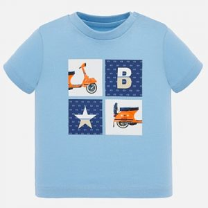 Mayoral Toddler Boys Blue T-Shirt 1052