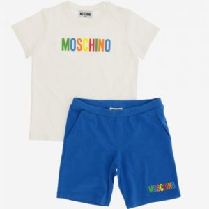 Moschino Blue Shorts Set MUG006