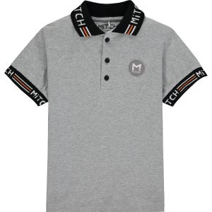 MITCH Cooper Grey Polo Shirt