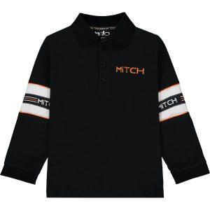 MITCH Brayden Black Polo Shirt