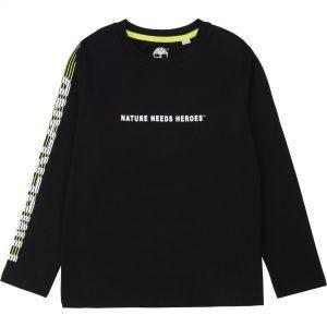 TIMBERLAND Black T-Shirt T25R15