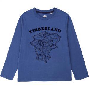 TIMBERLAND Blue T-Shirt T25R17