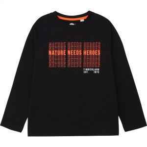 TIMBERLAND Black T-Shirt T25R22