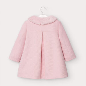 Mayoral Toddler Pink Coat 2407