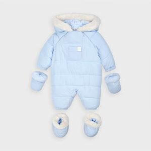 Mayoral Baby Blue Snowsuit 2627