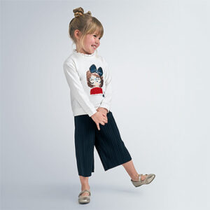 Mayoral Girls Cullote Trouser Set 4555