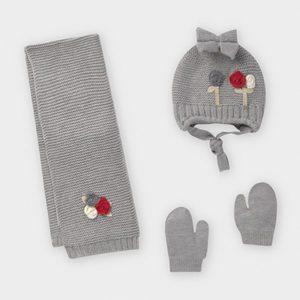 Mayoral Silver Hat Set 10842