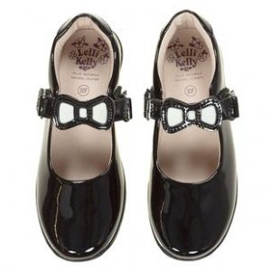 LELLI KELLY Black Patent Colourissima