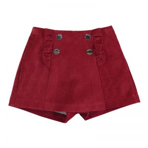 Mayoral Toddler Red Skort 2942