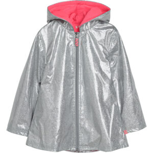 BILLIEBLUSH Silver Raincoat U16260