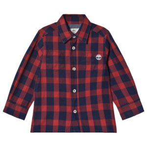 TIMBERLAND Red Shirt T25R44
