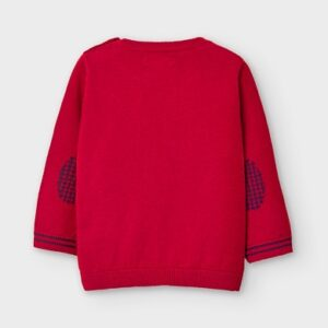 Mayoral Toddler Red Sweater 351
