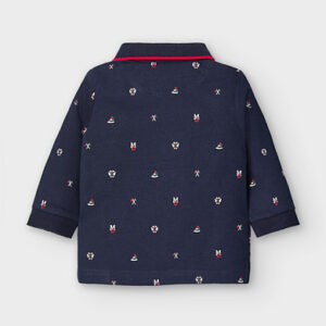 Mayoral Toddler Navy Polo 2124
