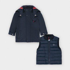 Mayoral Toddler Navy Double Item Coat 2486