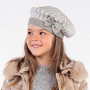 Mayoral Grey Hat Set 10895