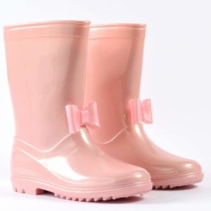 iDO Pink Girls Wellies 1361