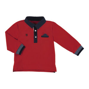 Mayoral Toddler Red Polo 2121