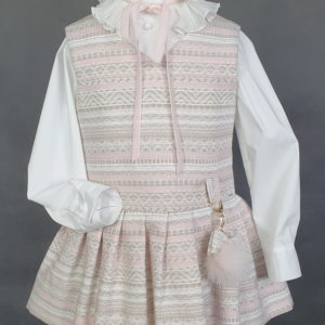 DAGA Dress & Blouse Set