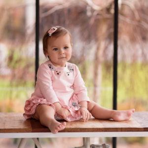 DAGA Pink Teddy Dress 7924