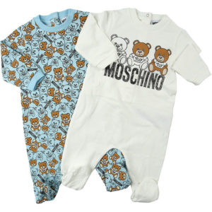 MOSCHINO Boys Babygrow Set MMY02C