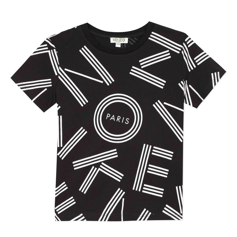 KENZO Black T-Shirt 10718