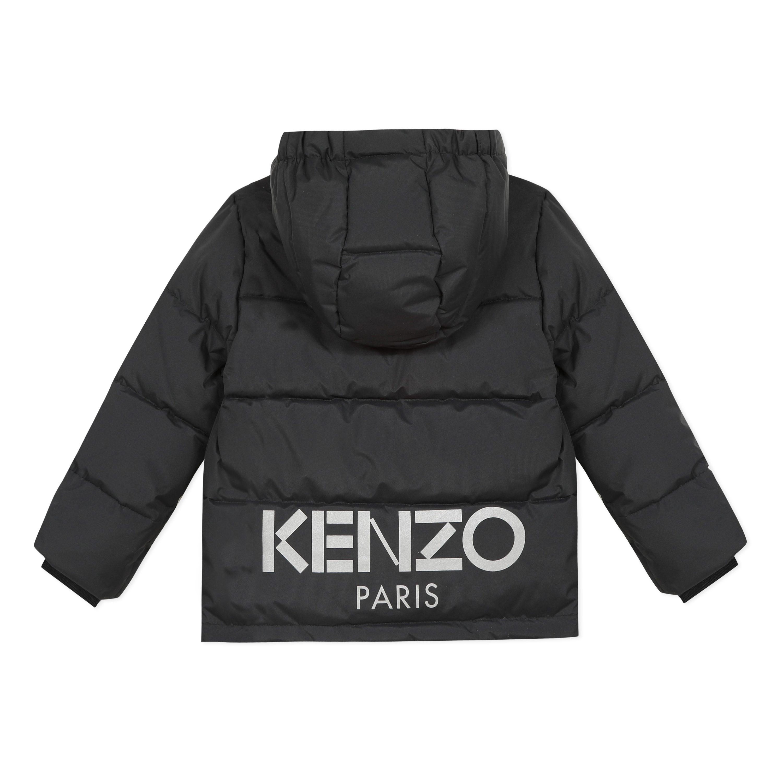 KENZO Black Down Jacket 42568