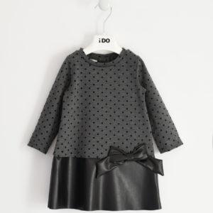 iDO Black & Grey Dress 1639