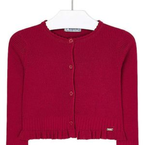 Mayoral Red Cardigan 4305