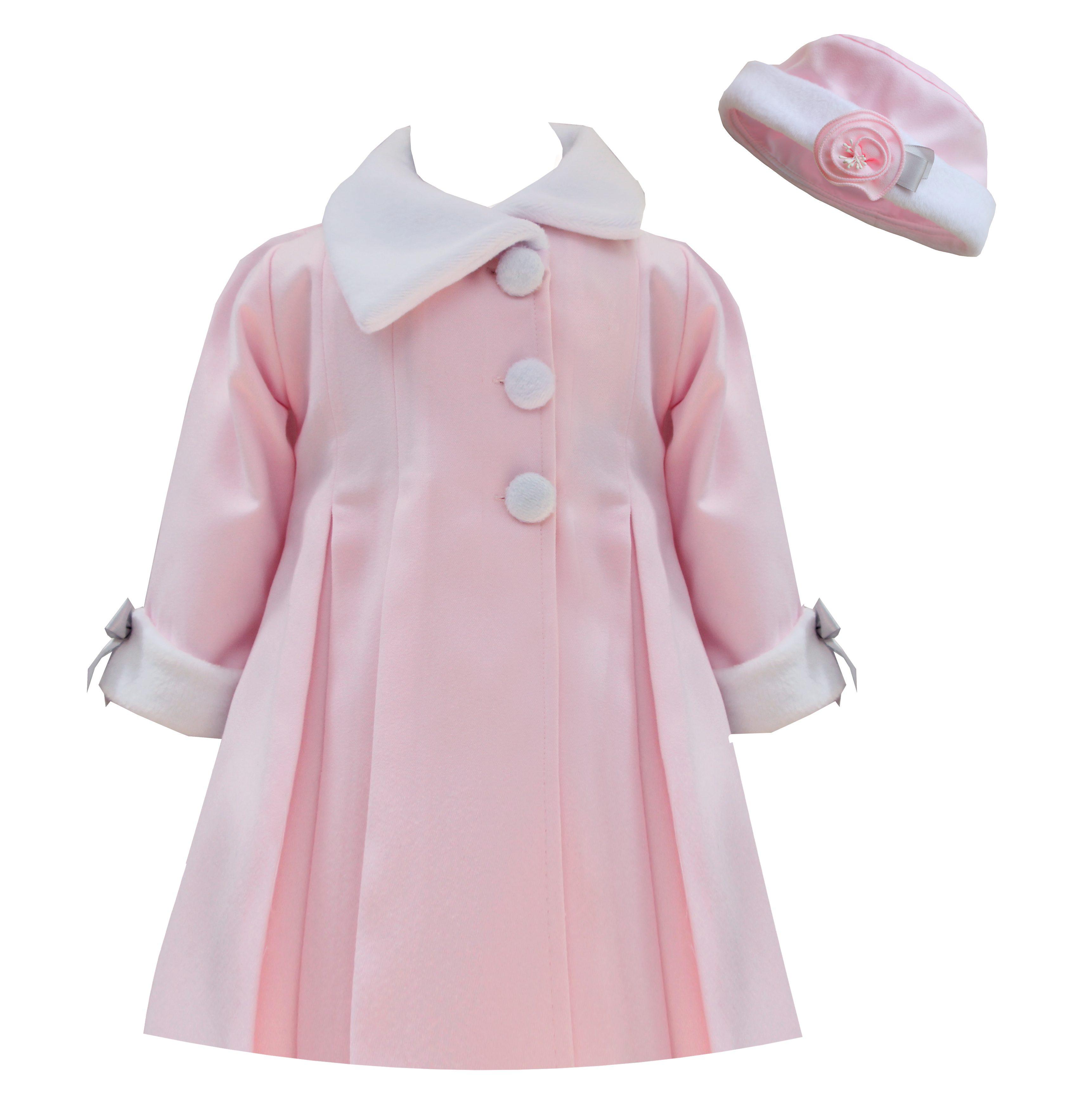 PRETTY ORIGINALS Pink Coat & Hat 1977