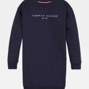 TOMMY HILFIGER Navy Sweatshirt Dress 5449